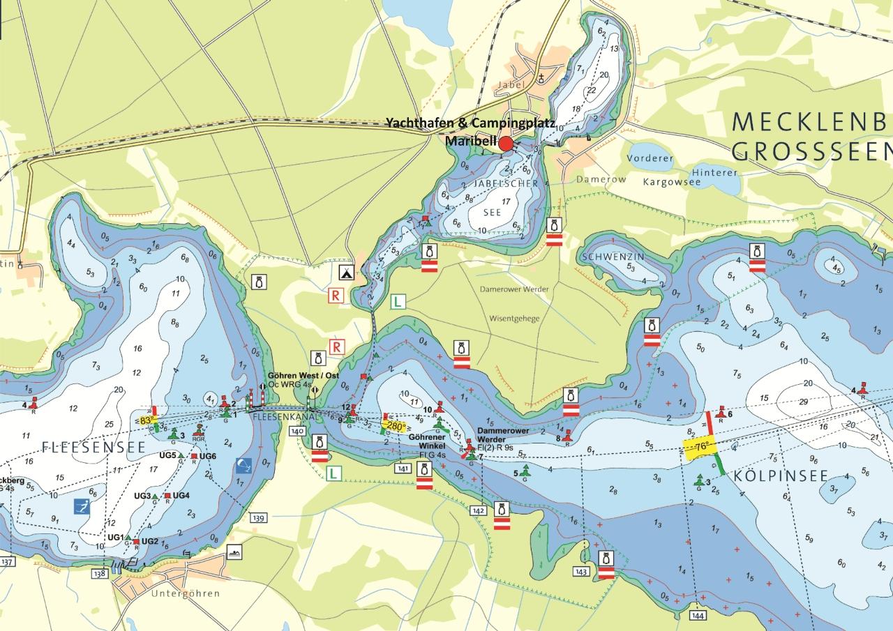Maribell - Yachthafen und Campingplatz