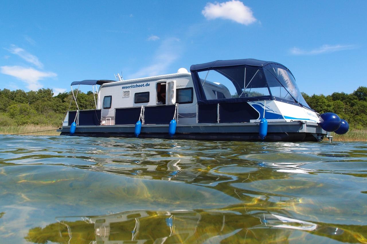 Wassercamper | Camping auf dem Wasser