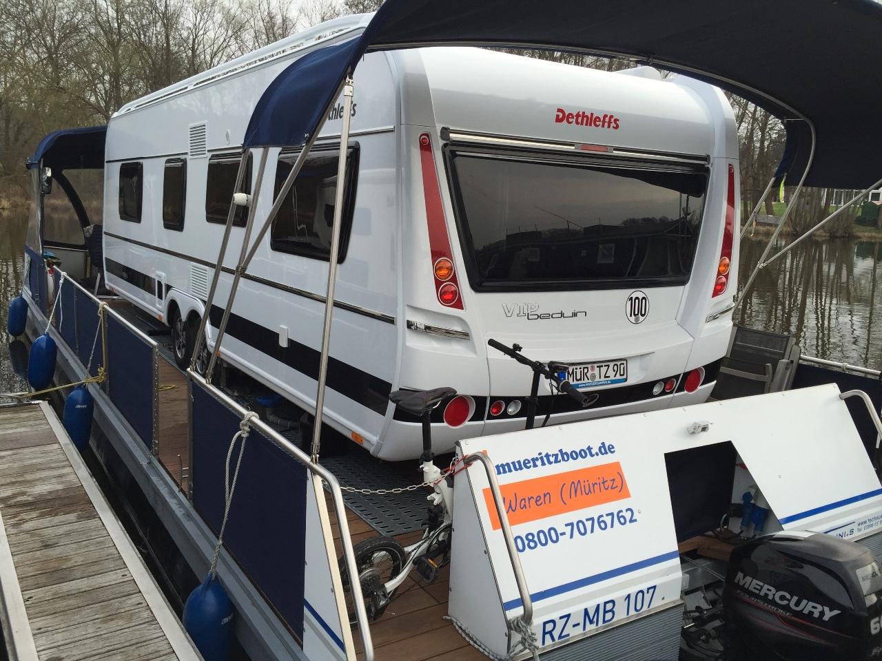 Water-Camper | Camping auf dem Wasser mit dem eigenen Wohnwagen