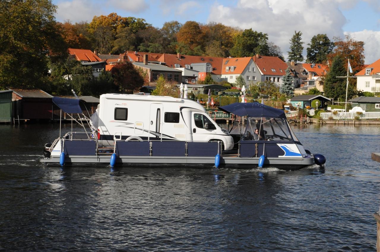 Water-Camper | Camping auf dem Wasser mit dem eigenen Wohnmobil