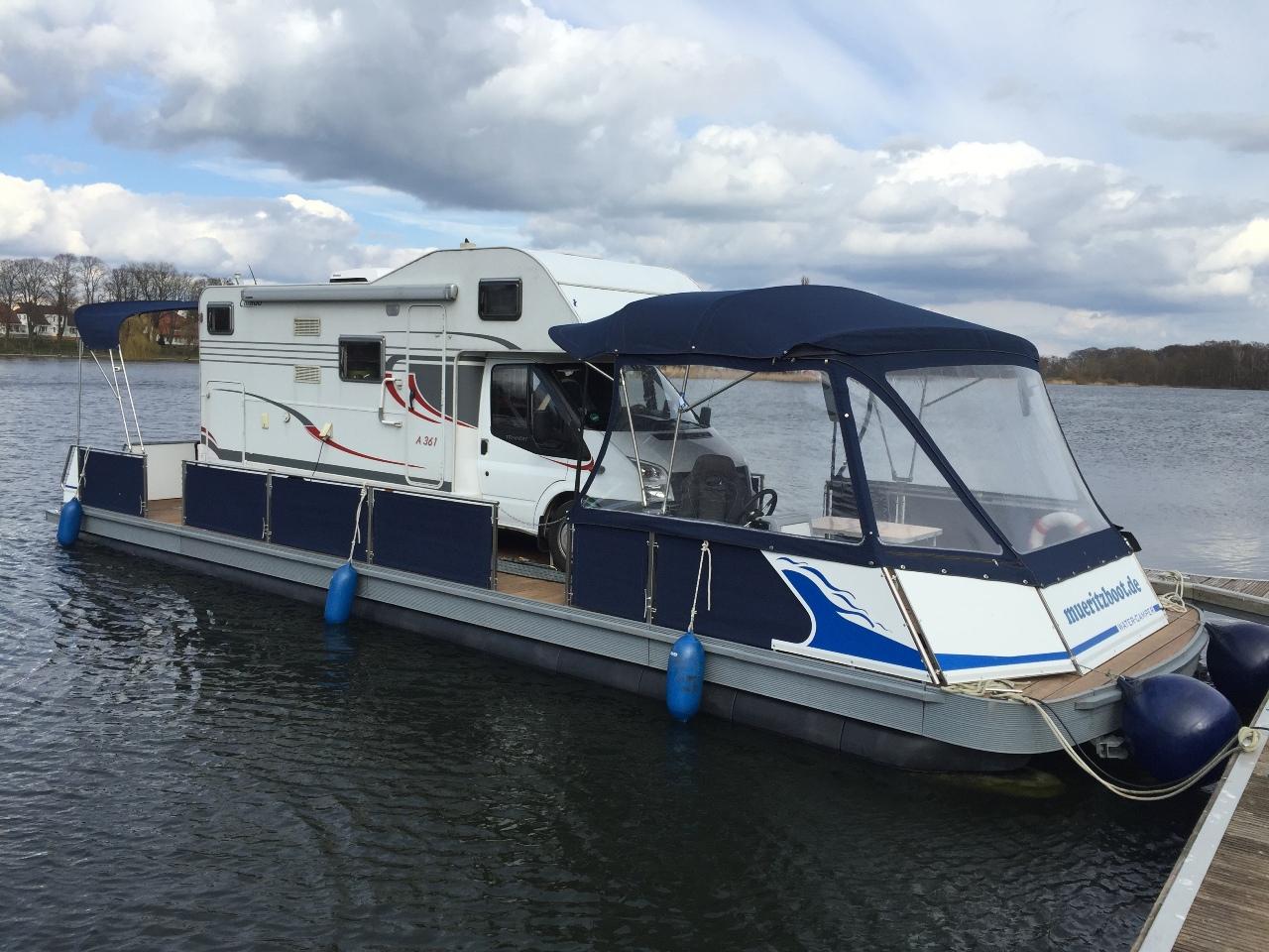 Wassercamper | Camping auf dem Wasser mit dem eigenen Wohnmobil-Hausboot