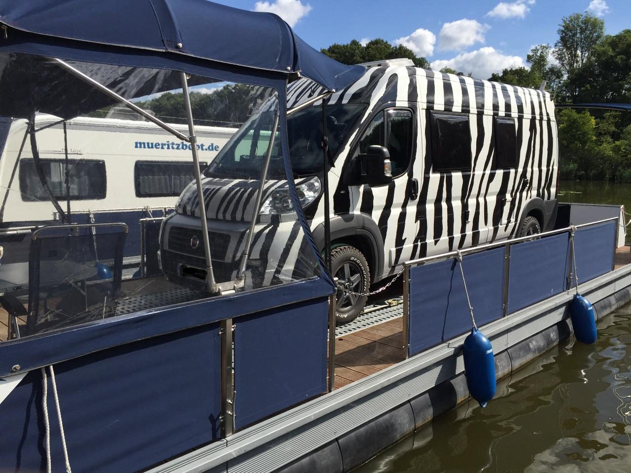 Wasser-Camper | Camping auf dem Wasser mit dem eigenen Wohnmobil